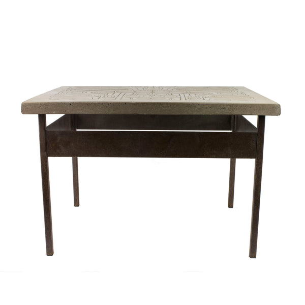 Northwest Coast Stone Table