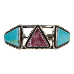 Turquoise and Spiny Oyster Bracelet