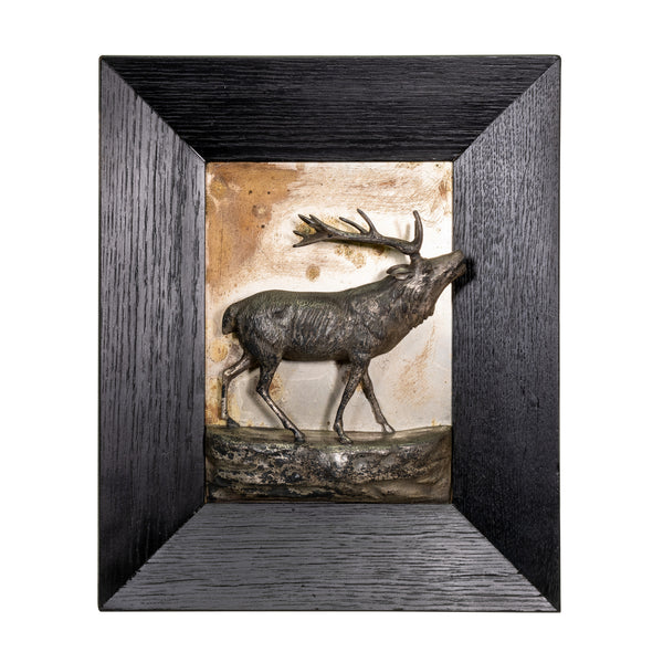 Trophy Stag Plaque