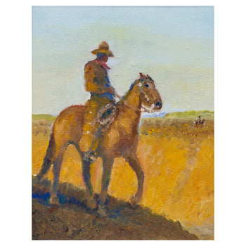 Fine Art  all paintings, jim carkhuff, new item, paintings-western  The Other Side by Jim Carkhuff