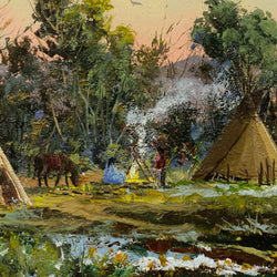 Late Spring Encampment by Thomas deDecker