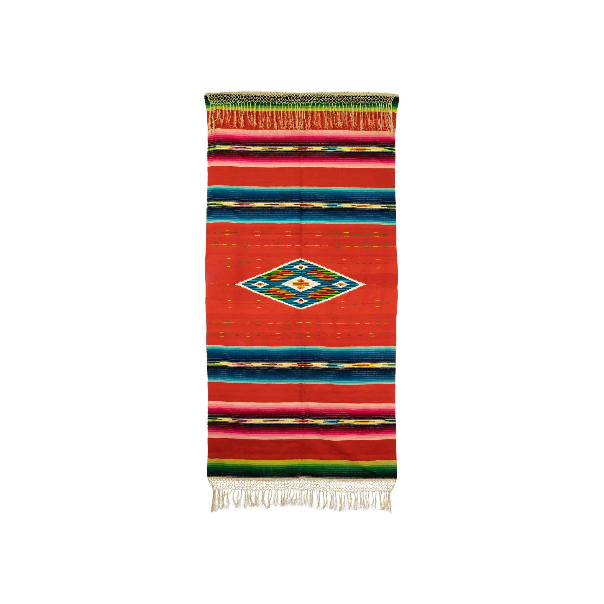 Mexican Serape 6' to 8', american indian: weaving: mexican, blankets, mexican, rugs, serapes, weavings
