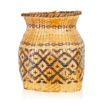 American Indian  baskets, cherokee, new item, rivercane, wastebaskets  Cherokee Rivercane Basket