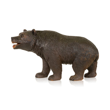 Special Collections  bears, black forest, brienz collection, carvings, new item, swiss  Black Forest Walking Bear