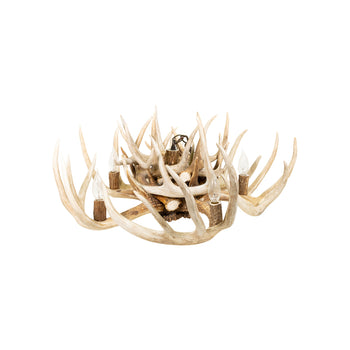 Lodge Furnishings  antler lighting, antlers, chandeliers, hanging lights, lighting, whitetail deer  Whitetail Chandelier