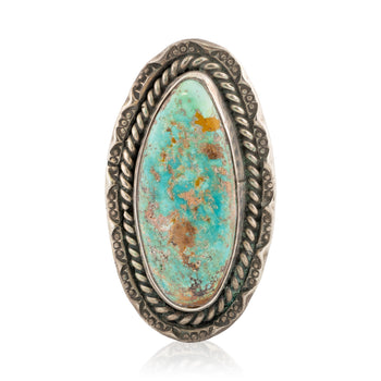 Jewelry  navajo, new item, rings, sterling, turquoise  Navajo Turquoise and Sterling Ring