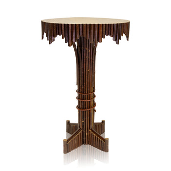 Lodge Furnishings  adirondack, lamp tables, new item, tables  Cisco's Adirondack Lamp Table