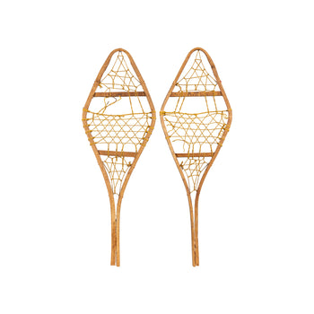 American Indian  miniatures, new item, ojibwa, snowshoes  Miniature Ojibwa Snowshoes