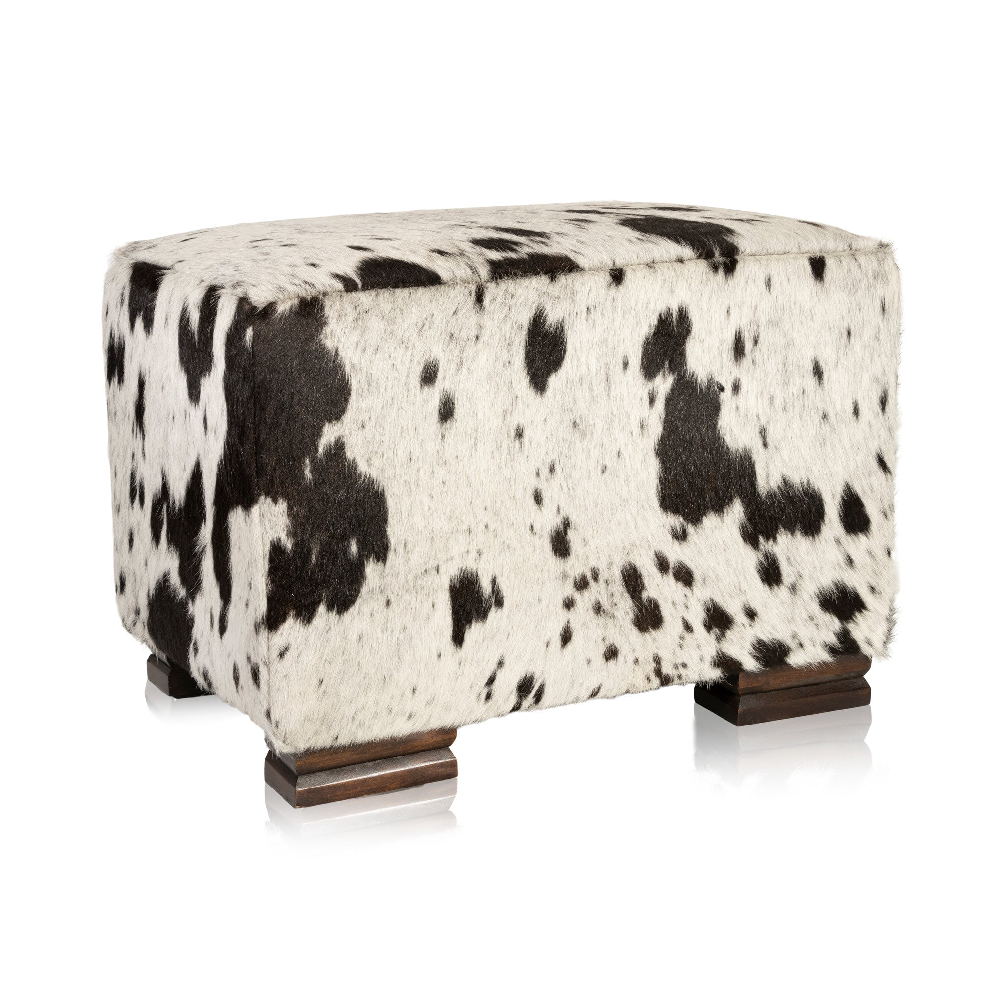 Cisco's Ottoman cowhides, mountain modern, new item, ottomans, seating