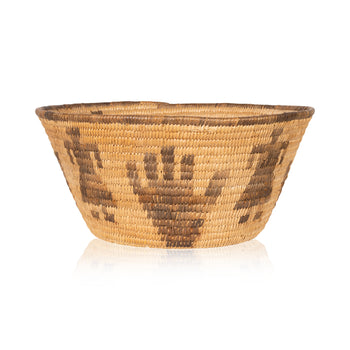 American Indian  baskets, daisy angegus, new item, pictorial baskets, pima  Pima Basket by Daisy Anegus