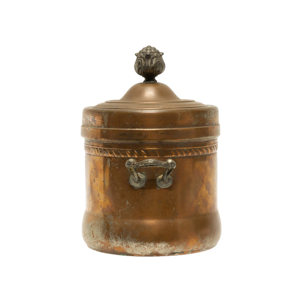 American Copper Glazed Crock