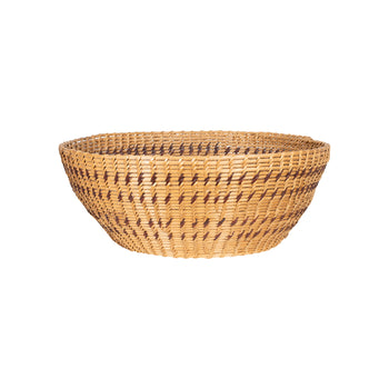 American Indian  baskets, new item, washoe  Washoe Single Rod Basket