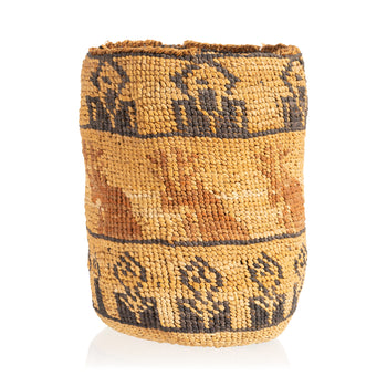 American Indian  baskets, new item, sally bags, sam's pick, wasco  Wasco Polycome Sally Bag