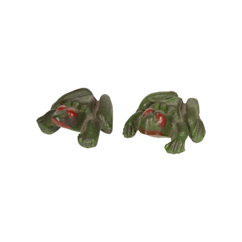 Lodge Furnishings  frogs, new item, paperweights  Naughty Frog Paperweights