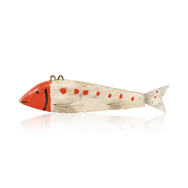 Red and White Spearfish Decoy