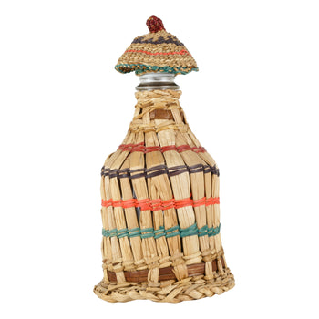 American Indian  baskets, bottle baskets, chehalis, hazel pete, sale item  Chehalis Bottle Basket
