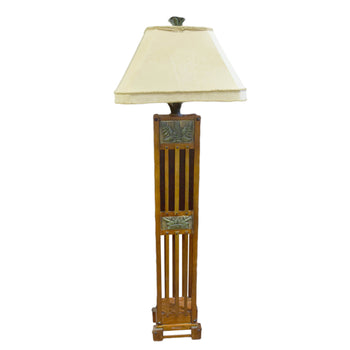 Lodge Furnishings  floor lamps, lamps, lighting  Arts and Craft Style Lamp