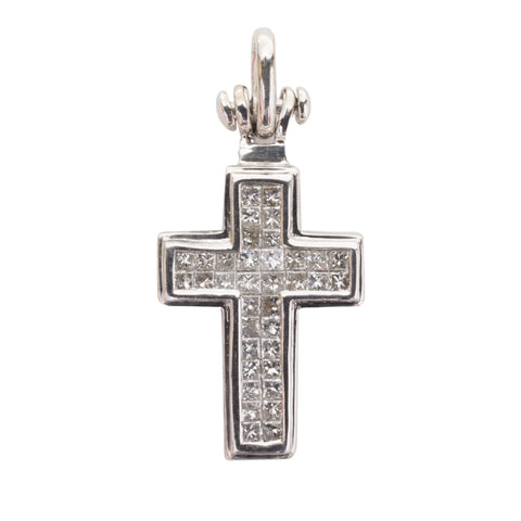 Diamond Cross Pendant cross pendants, crosses, diamonds, pendants, womens