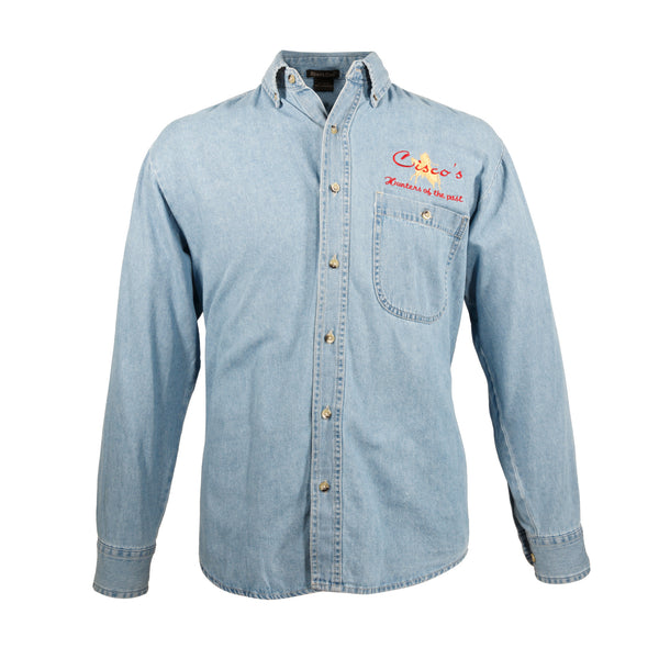 Cisco's Faded Denim Shirt