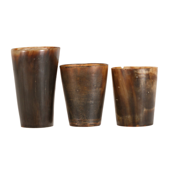 Three Steer Horn Cups