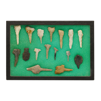 American Indian  drills, points, texas  Prehistoric Texas Drill Collection