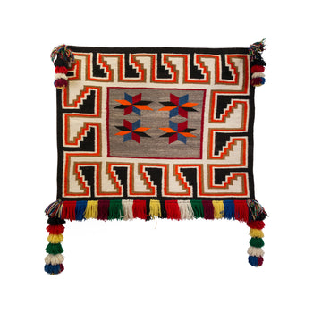 American Indian  4' to 6', navajo, saddle blankets, teec nos pos, weavings  Teec Saddle Blanket