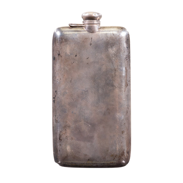 Antique Sterling Silver Flask