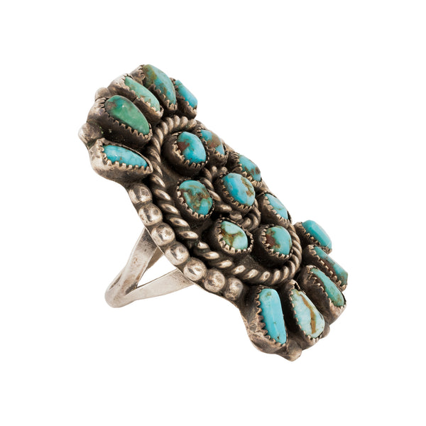 Zuni Sunburst Ring