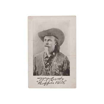 Cowboy and Western  buffalo bill, cabinet cards