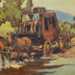 Stagecoach Crossing by Sheryl Bodily