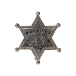 Sheriff Mesa Co. Badge