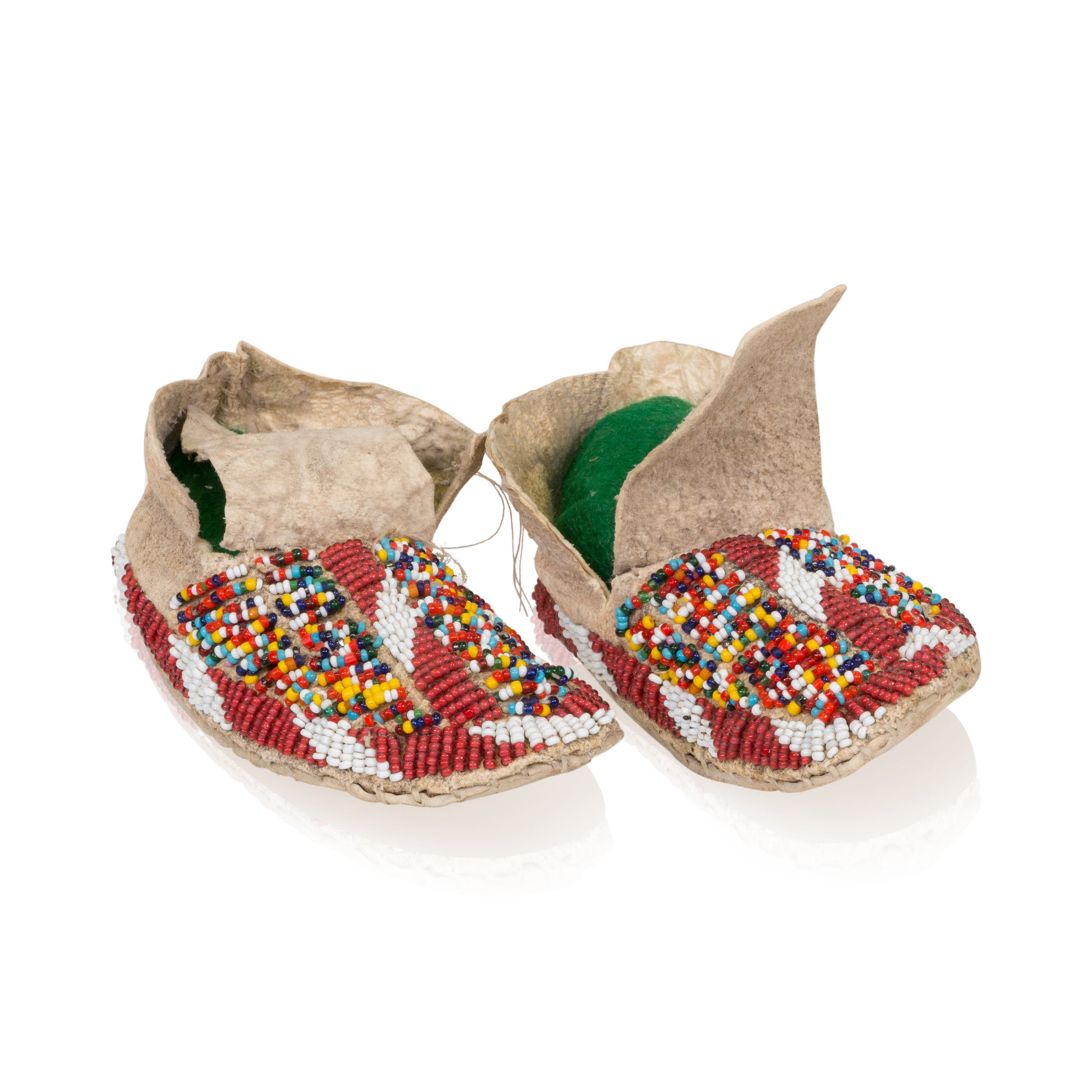 Sioux Baby Moccasins baby, beadwork, moccasins, sioux