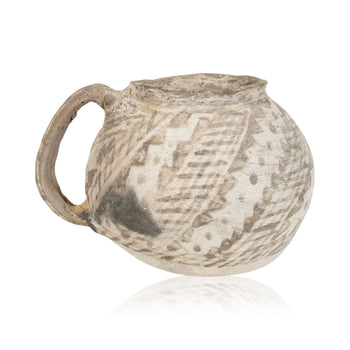 American Indian  anasazi, pitcher, pottery-prehistoric  Chaco Pitcher