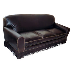 Kennedy Collection Leather Western Great Room Couch