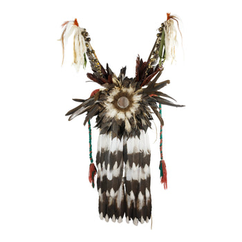 American Indian  american indian other, crow, dance bustle  Crow Dance Bustle