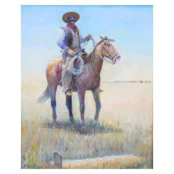 Fine Art  carkhuff, oil, paintings, paintings-western