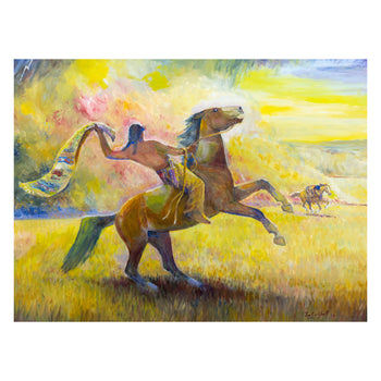 Fine Art  carkhuff, fine art: painting: native american, oil, paintings, paintings-native, sale item
