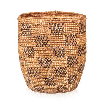 American Indian  baskets, cowlitz, klickitat  Klickitat Carrying Basket