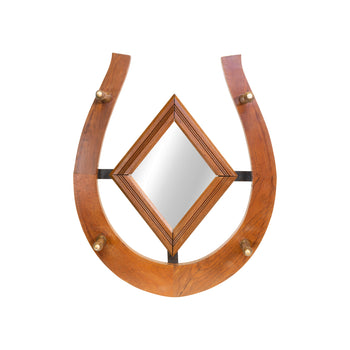 Cowboy and Western  hat racks, horseshoes, mirrors  Horseshoe Mirror/Hat Rack
