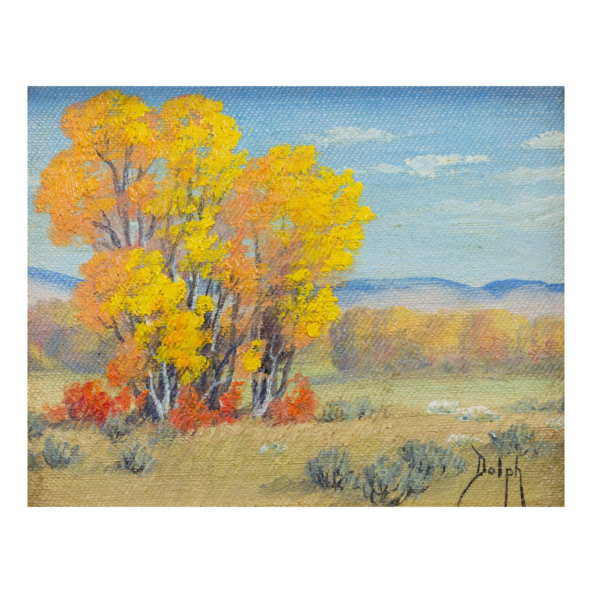 Aspens by Dorothy Dolph dorothy dolph, oil paintings, paintings - landcape