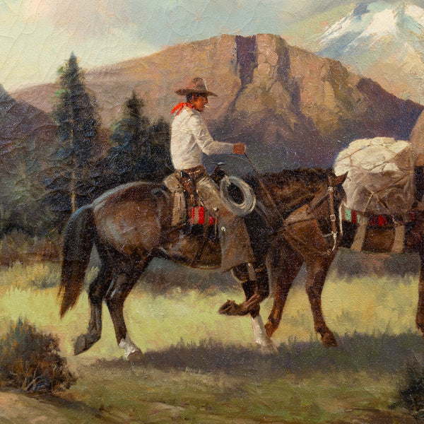 On the Trail by Charles Damrow