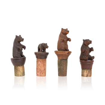 Special Collections  barware, black forest, brienz collection, carvings, cork stoppers, miniatures  Black Forest Cork Stoppers