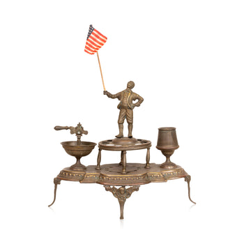 Cowboy and Western  barware, cigar holders, smoking, theodore roosevelt  Patriotic Cigar Holder