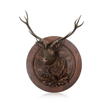 Special Collections  black forest, brienz collection, carvings, sam's pick, special collections: other: breinz collection, stags  Black Forest Stag