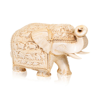 Lodge Furnishings  carvings, elephants, ivory, new item, sam's pick  Ivory Elephant