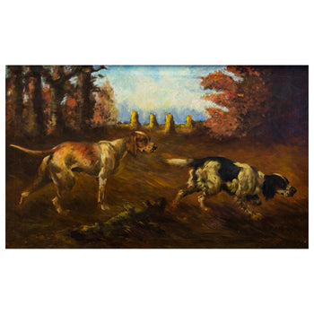Setter and a Pointer in a Field by Thomas Dalton Beaumont