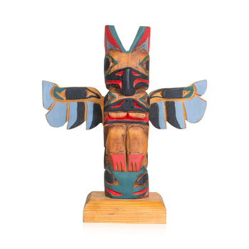 American Indian  <1, carvings, northwest, totem poles, totems  Northwest Totem