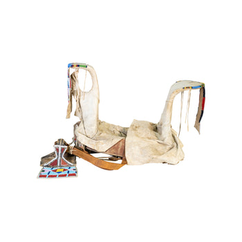 American Indian  american indian: horse gear: saddle, crow, horse gear, ostuw, saddles  Crow Saddle