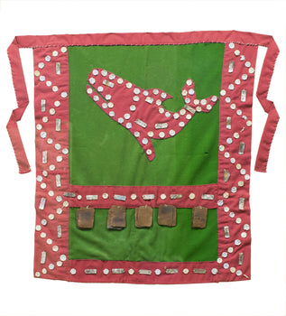 American Indian  aprons, blankets, button blankets, haida, sale item, shirts  Haida Apron With Coppers