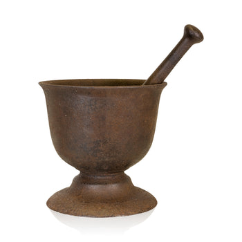 Cowboy and Western  cast iron, gold rush, mortars, pestles  Mortar and Pestle